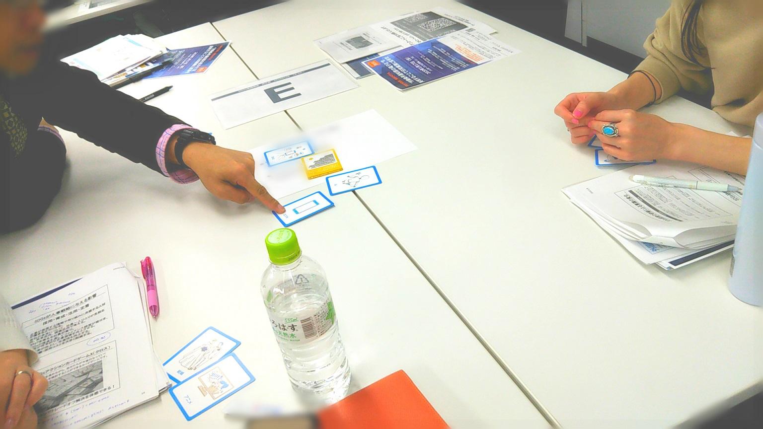 カードゲーム研修 - カードゲームでSDGsを題材にしたイノベーションを体験!「SDGs勉強会」開催レポート